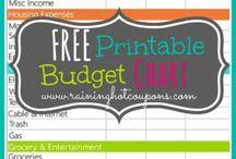 Budget Printables