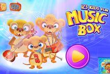123 Kids Fun Music Box / New APP for Kids  #music #instruments # free #app #kids