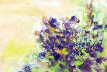 Blomster og blade