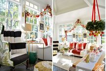 Christmas / Christmas decor can sell help houses sell.  You just need to have a theme and stick to it!
