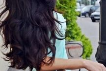 Hairstyle♡ / hairstyling ,lovely Brown hair colour :-)