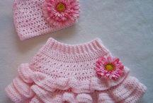 Baby girl knits