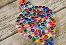 MATERIALS: Sequins / by Craft Project Ideas