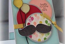 Mustache Cards 2 / by Carol Foskett