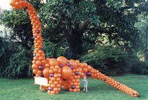 Dinosaur party / by Lesli Blevins
