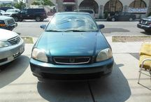Used 1998 Honda Civic for Sale ($2,500) at Paterson, NJ / Make:  Honda, Model:  Civic, Year:  1998, Body Style:  Tractor, Exterior Color: Green, Vehicle Condition: Excellent,  Mileage:155,000 mi, Fuel: Gasoline Hybrid, Engine: 4Cylinder L4, 1.6L; SOHC; MFI, Transmission: Automatic.   Contact; 973-925-5626   Car ID (56671)