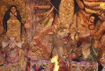 Durga Puja / Durga puja festival, Durga puja traditions, Puja, Durga puja celebrations, Durga temples, Durga puja myths