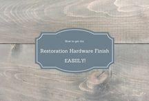 Restoration hardware finish