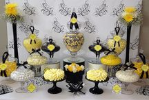 Inspiration: black and yellow