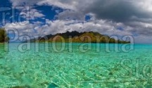 Lagoon or Desert Beach panoramic stock photo / Lagoon or Desert Beach panoramic stock photo World Panorama Stock