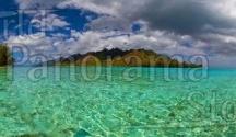 Lagoon or Desert Beach panoramic stock photo / Lagoon or Desert Beach panoramic stock photo World Panorama Stock