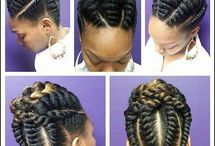 Natural Hair Updos / A Natural hair updo is a great natural hair style for black women no matter the length. This board is great inspiration for all types of updos from casual to elegant.
