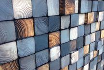 Paredes de madera reclamadas