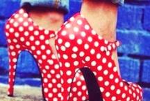 I hate shoes!!!!! Love polka dots :)