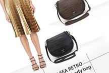 Marla Fiji - Chelsea Retro cross body bag - Italian leather bag