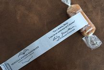 Business Gifts / Custom caramels wrapped with your logo, quotes, leave a lasting impression! / by Good Karmal