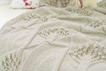 Pletené a háčkované deky