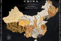 cartes Chine