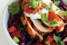 chicken - salad