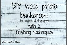 {photography} backdrops & layouts / Backdrop and layout ideas for making your photos pop!