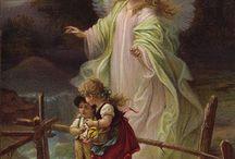 Vintage cherubs and angels