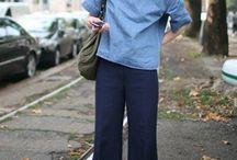 Weite Hosen/Wide pants