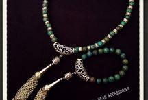 Buddha Head Acessories / Handmade