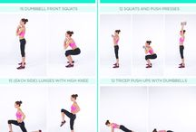 Kayla Itsines Workout / by Dana Marie