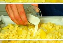 papas con queso horneadas