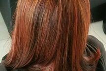 My hairstyles / Mes coiffures, couleurs et celles de ma fille