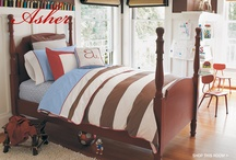 twin bedroom ideas / by Sherry Lonsford