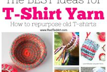 Yarn Crafts / Great projects made with yarn, but without knitting or crochet!