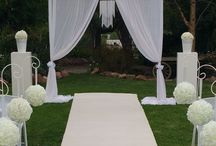 Wedding arch inspiration / Wedding arch ideas