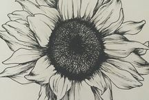 Tattoo sunflower