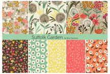 ::: Suffolk Garden ::: / Brie Harrison's Dashwood Studio fabric collection, Suffolk Garden, is inspired by nature and the English countryside – in particular the flora and wildlife found in her mother's garden back home in Suffolk. Brie developed the collection from sketches and photographs taken whilst travelling and exploring, visiting museums and markets.