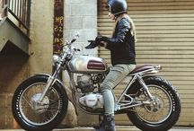 Cafe Racer - Photo shoot ideas