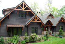 Cottage Exterior Roadside