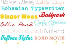 Fonts / Free fonts to download and use with Cameo projects