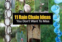 rain chains / by Michelle Wilcox