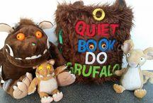 Quiet Book Grufalo / Livro de Feltro. quieto book. gruffalo. grufallo felt. Livro de atividades. Livro sensorial.