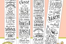 Bible journaling tracebles