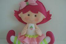 moranguinho boneca