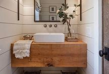 Home Inspiration - Bathroom / bathroom design, bathroom decor, home decor, remodel, refinish, update bathroom, decor ideas