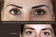Maquillage permanent des sourcils - Audreyrojo.com / Mon travail de maquillages permanents naturels des sourcils en poil à poil à Lavaur à mi chemin entre Toulouse, Albi & Castres