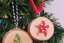 Christmas nature crafts