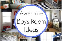 Boys Bedrooms / Bedrooms for young boys.