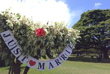 Just married / ハワイで撮ったお気に入り写真