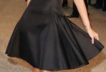 Наряды с черным платьем