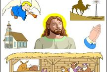 Biblical Clip Art Bundle / Biblical Clip Art. You can use these images to teach Bible stories and truths to children in your private schools, Christian preschool or children's ministry in Sunday school class.