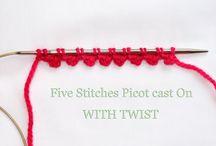 Knitting - Stitches/Tutorials